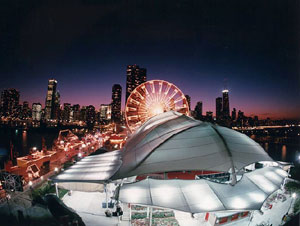 cool photo of chicago