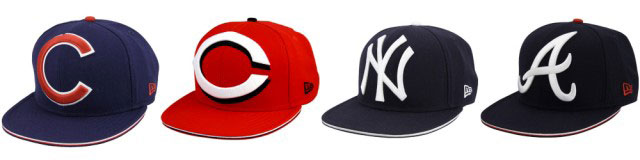 big ol' baseball hats