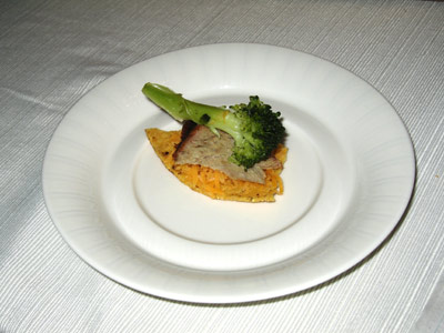 brocolli pork cheese tortilla treat