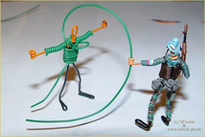 ethernet cable toy figures