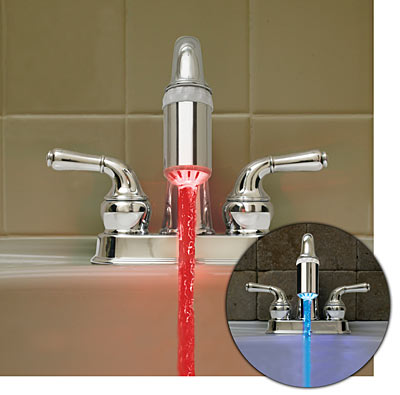 make red water come out of your faucet