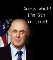 U.S. President line of power