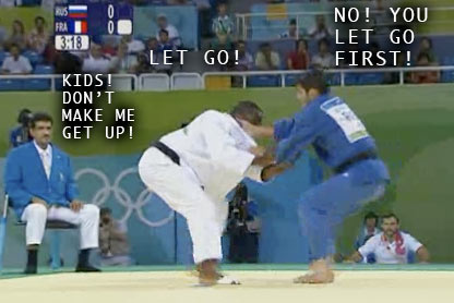 OLYMPICS: Judo my favorite event thus far