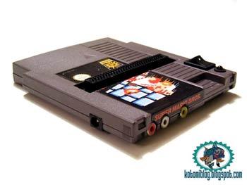 Nintendo console in a Nintendo game
