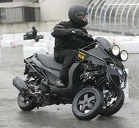 Vespa Piggagio MP3 3 wheel motorcycle