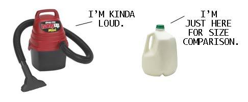 vacuum decibels