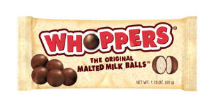 Whoppers candy bad. Whoppers pie good.