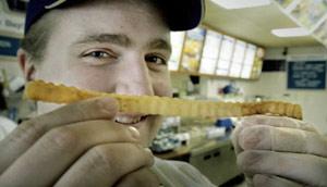 world's longest french fry