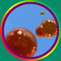 colored soap bubbles!