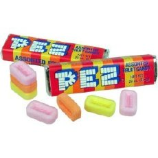 PEZ candy without dispenser