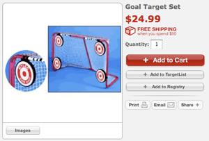 targets at Target