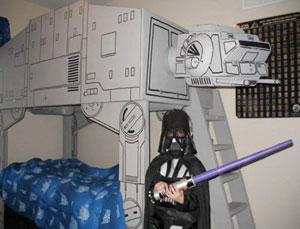 AT-AT bunk bed