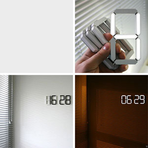 OLED-only clock