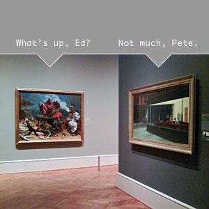 Edward Hopper & Peter Blume