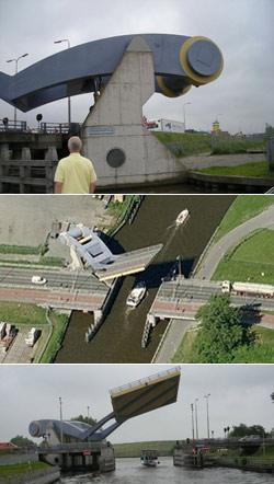 When does that bridge transform into a robot?