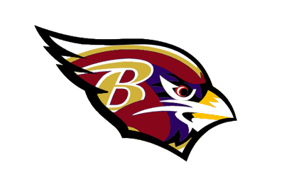 Cardinals Ravens logo