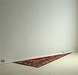 carpet in the corner