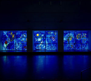 new location of Chagall windows