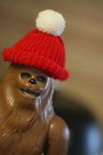 chewbacca santa hat