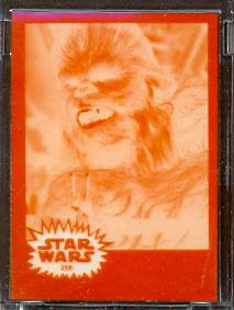 Chewbacca Topps card