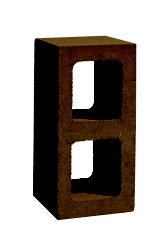 chocolate cinder block