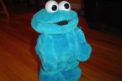 celebrating Cookie Monster