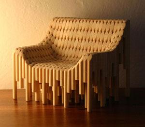 dowel rod chair