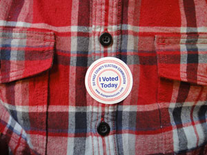 election day flannel