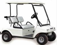 golf carts at zoo
