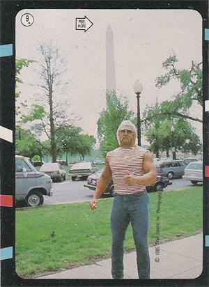 Hulk Hogan and Washington Monument