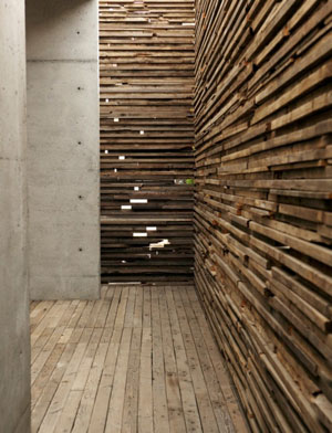 wooden plank thing wall