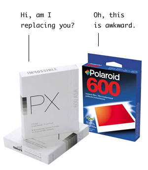 a new kind of Polaroid film