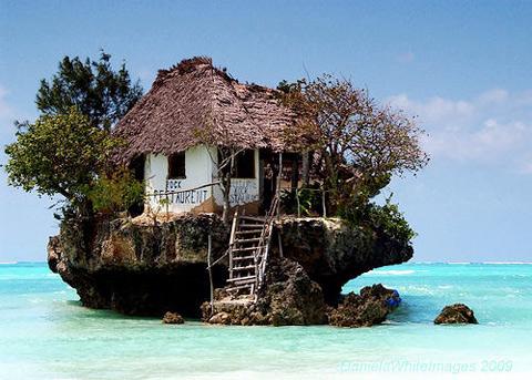 entire island as restaurant