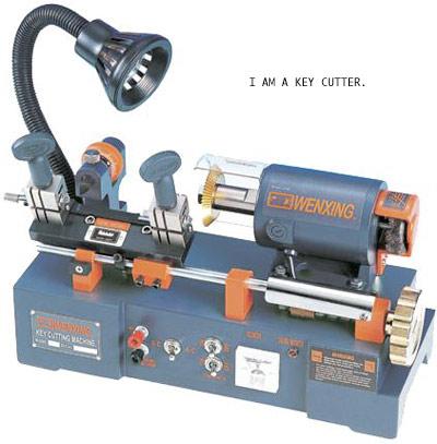 I am a key cutter
