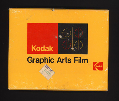 Kodak Graphic Arts film