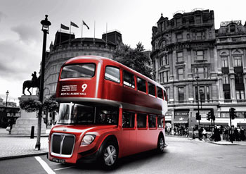 slick london bus design