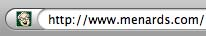 it's the Menards guy favicon
