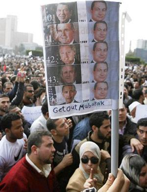 Making a better Hosni Mubarak sign
