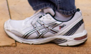 Obama's gym shoes