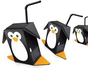 penguin juice box