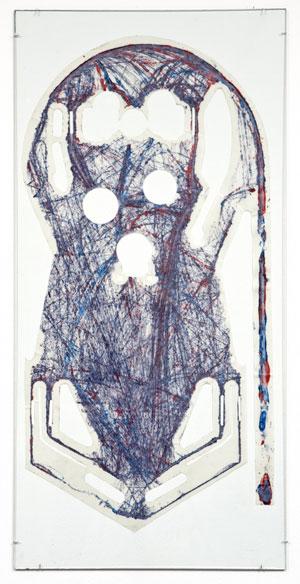 pinball expressionist art