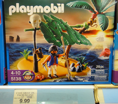 Playmobil Cast Away on Palm Island