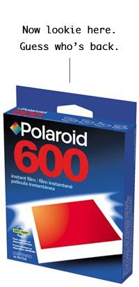 Polaroid film is back!