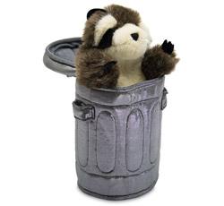 raccoon puppet not cute
