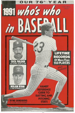 great baseball magazine design