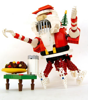 fun with lego at Christmas time