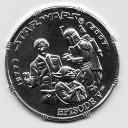 Star Wars Episode V coin