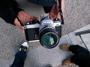 Tokyo loves analog cameras