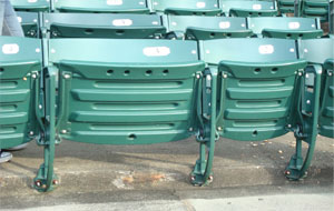 wider stadium seats